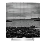 View From The Harbor Shower Curtain