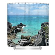 View From The Top Shower Curtain