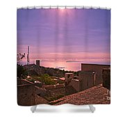 View From The Top In Sicily 2 Shower Curtain