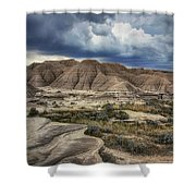 View From The Top - Toadstool  Shower Curtain