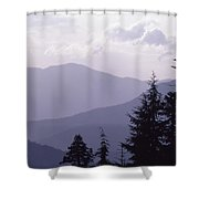 View From The Trees Shower Curtain