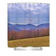 View From Von Trapps Lodge 2 Shower Curtain