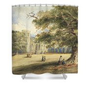 View Of A Churchyard, Southborough, Kent Shower Curtain