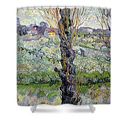 View Of Arles Shower Curtain