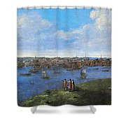 View Of Boston, 1738 Shower Curtain
