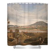 View Of El Paso Shower Curtain