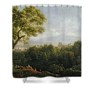 View Of Frascati Shower Curtain