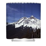 View Of Garibaldi Mountain Shower Curtain