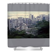 View Of Hong Kong Shower Curtain