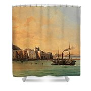 View Of Ischia From The Sea Shower Curtain