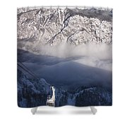 View Of Julian Alps From Vogel Mountain Shower Curtain