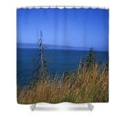 View Of Kachemak Bay, Alaska Shower Curtain