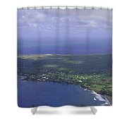 View Of Kaulapapa Shower Curtain