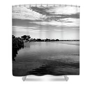 View Of Lemon Bay Shower Curtain