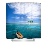 View Of Micronesia Shower Curtain