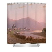 View Of Mtskheta Shower Curtain