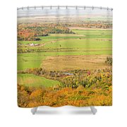View Of Ottawa Valley In Autumn 13 Shower Curtain