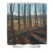 View Of Parkers Creek Shower Curtain