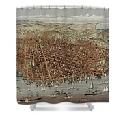 View Of San Francisco Shower Curtain
