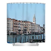 View Of San Marcos Shower Curtain