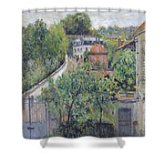 View Of Serves Shower Curtain