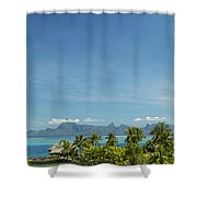 View Of Tahiti Shower Curtain