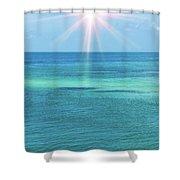 View Of The Atlantic Ocean Shower Curtain