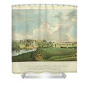 View Of The Battle Ground At Concord Mass Shower Curtain