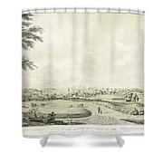 View Of The City Of New York Shower Curtain