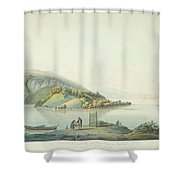 View Of The Island Shower Curtain