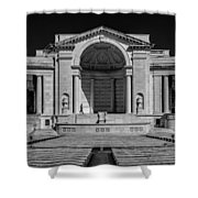 View  Of The Memorial Amphitheater At Arlington Cemetery  Shower Curtain