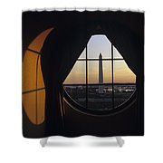 View Of The Washington Monument Shower Curtain