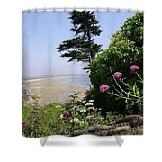View Of Tramore Shower Curtain
