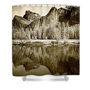 View Of Yosemite Shower Curtain