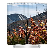 View On The Way Up Mt. Jo, Adirondacks Shower Curtain