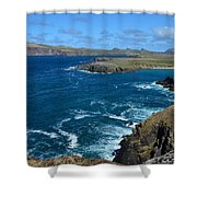 View Over Clogher Shower Curtain