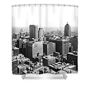 View Over Downtown Chicago Shower Curtain