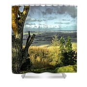 View Over Redcar Shower Curtain