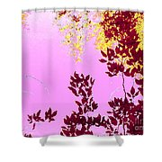 Colored View Shower Curtain