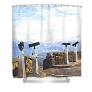 View The Columbia At The Vista House Shower Curtain