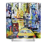 View To Manhattan Shower Curtain