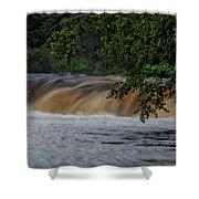 Viewing Tahquamenon Lower Falls Upper Peninsula Michigan 02 Shower Curtain
