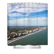Views From Above Shower Curtain