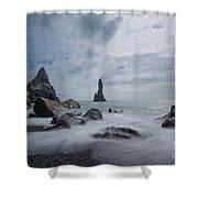 Vik Iceland Shower Curtain