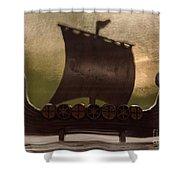 Viking Boat Shower Curtain