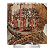 Viking Invasion 919 Shower Curtain