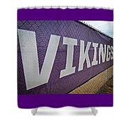 Vikings Banner Shower Curtain
