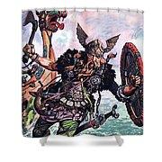 Vikings Shower Curtain