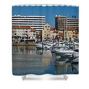 Vilamoura Marina 2 Shower Curtain