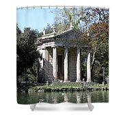 Villa Borghese Park Shower Curtain